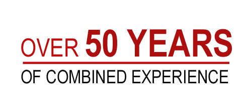 Over50YearsOfCombinedExperience